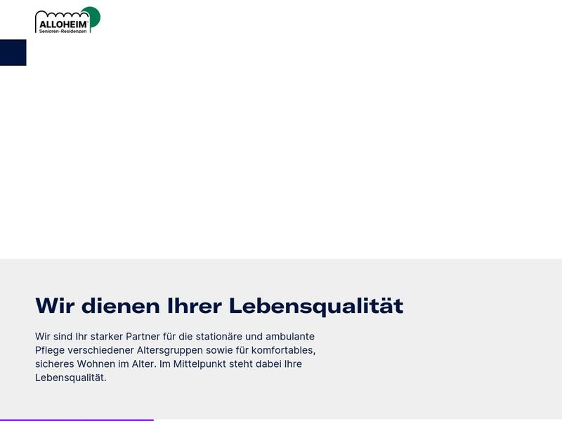 Screenshot von http://seniorenzentrum-lutter.de